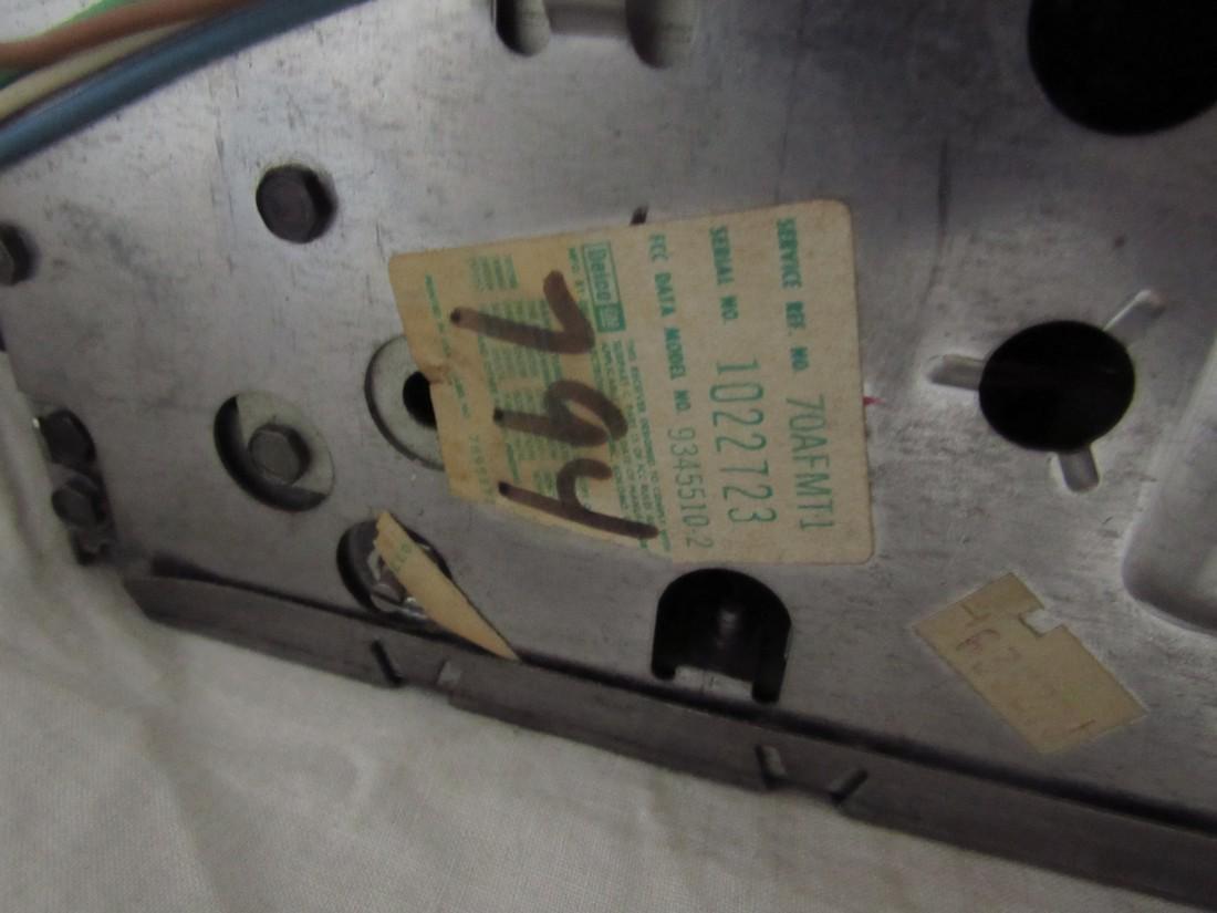 Delco 70AFMT1 Car Radio - 4