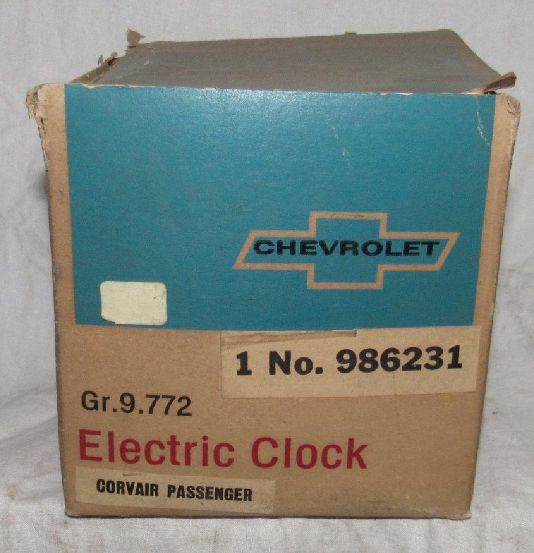 Chevrolet Corvair Passenger Electric Clock