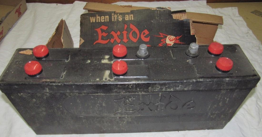 New Old Stock Exide Car Battery - 2
