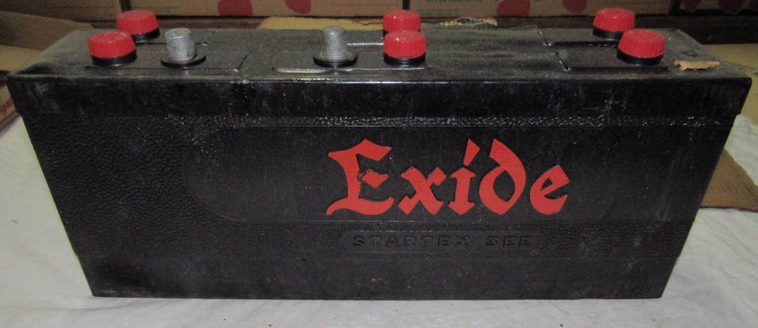 New Old Stock Exide Car Battery - 3