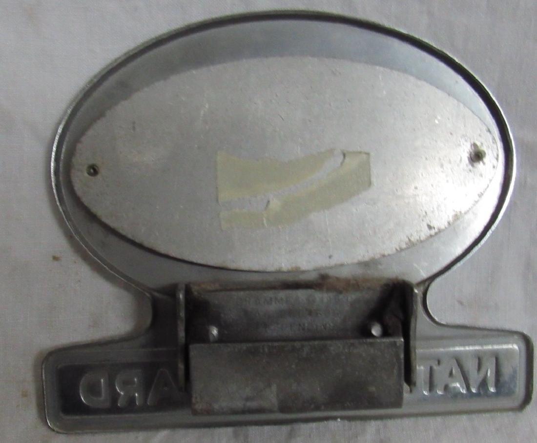 AAA National Award License Plate Tag - 2
