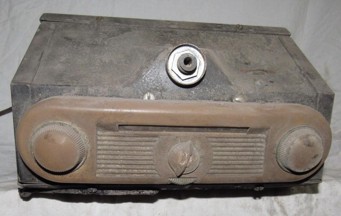 Antique Ford Car Radio - 2