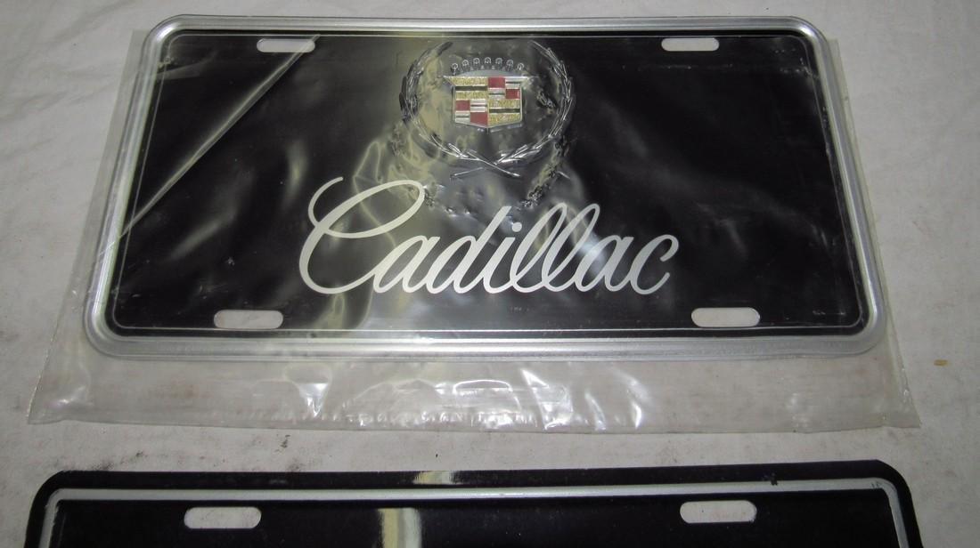 2 Cadillac License Plates - 2