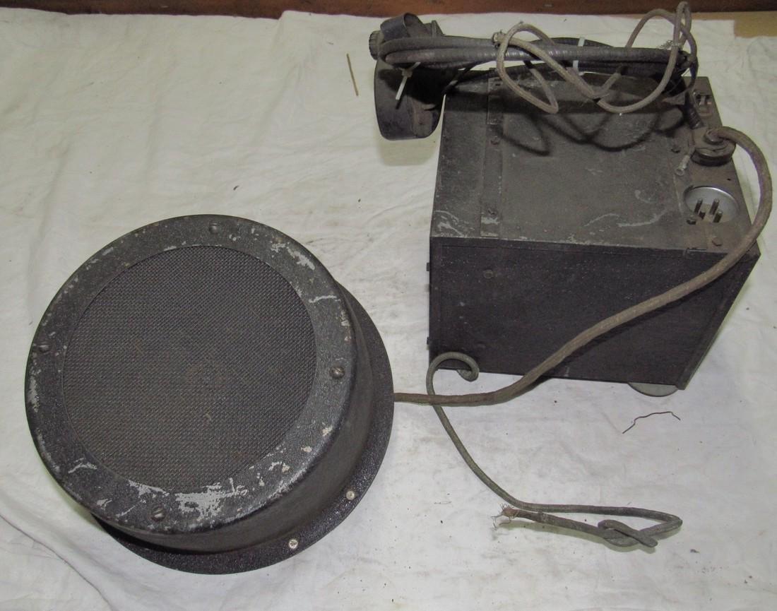 Antique Philco Car Radio & Speaker