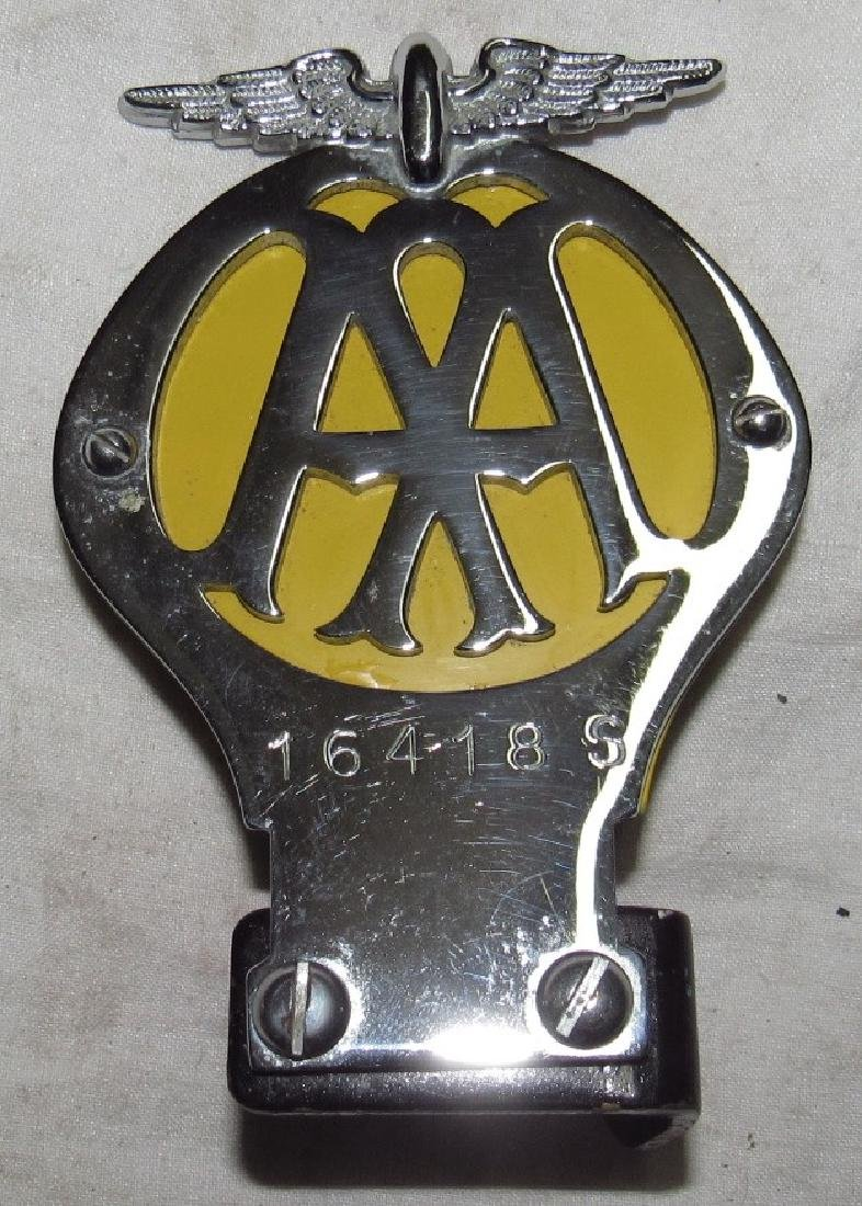 AA Automobile Club License Plate Topper
