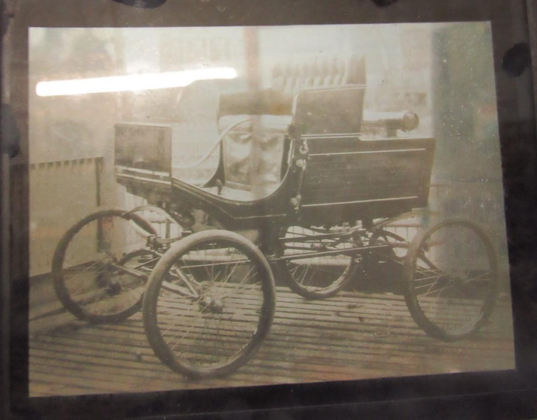 Antique Car Magic Lantern Slide Photos