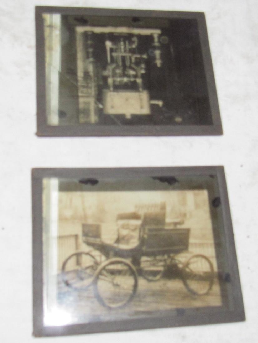 Antique Car Magic Lantern Slide Photos - 3