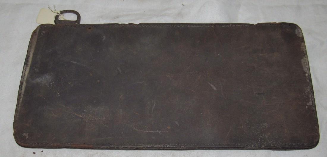 Antique R&S License Plate - 2