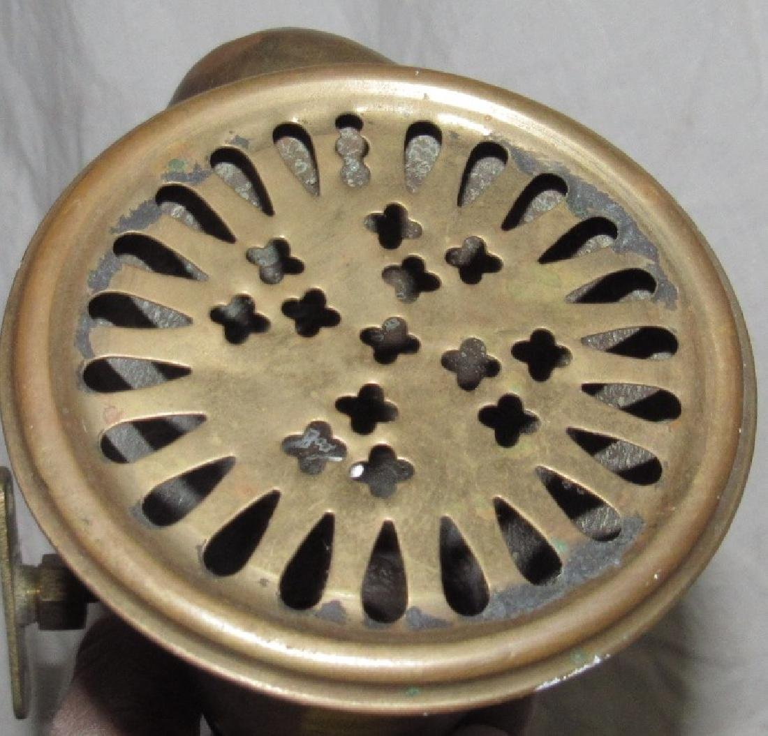 Antique Brass Car Horn - 3