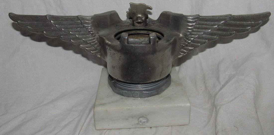 Eagle Hood Ornament Radiator Cap - 2