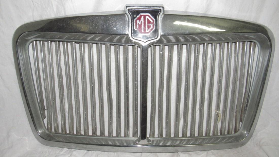 Chrome MG Grill