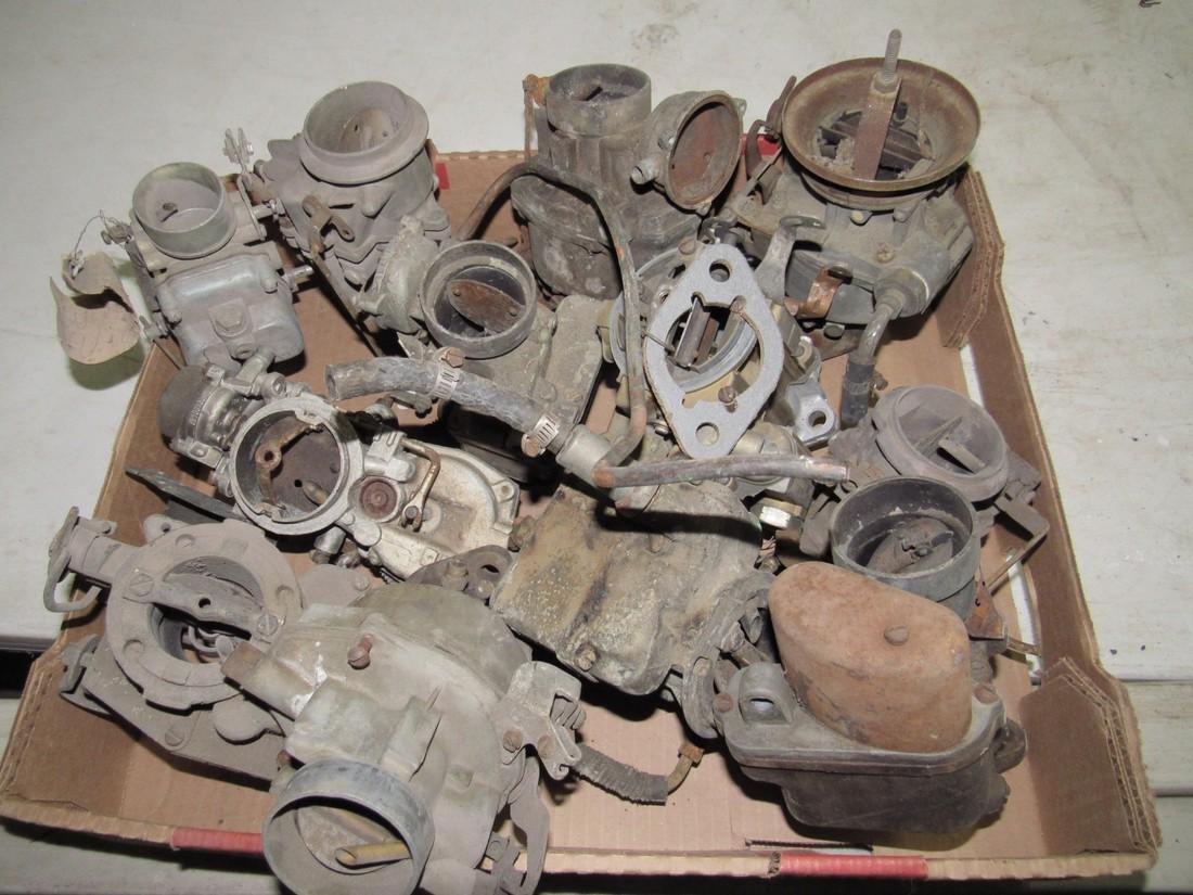 Box of Down Draft Carburetors