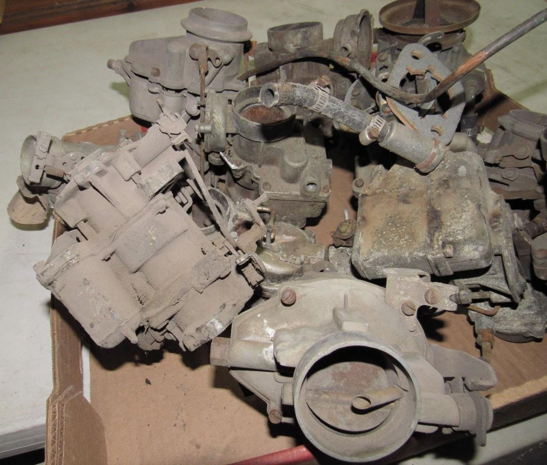Box of Down Draft Carburetors - 2