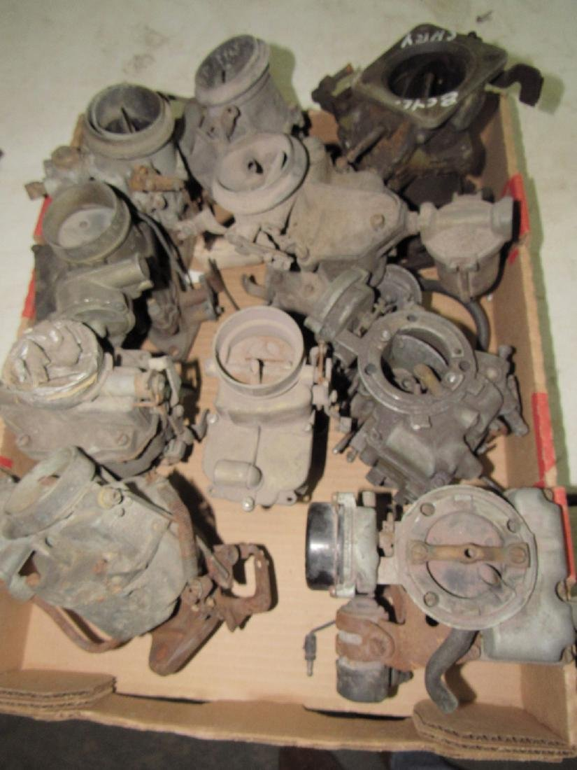 Box of Down Draft Carburetors
