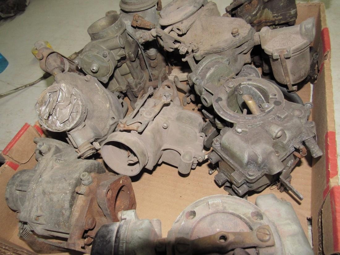 Box of Down Draft Carburetors - 2