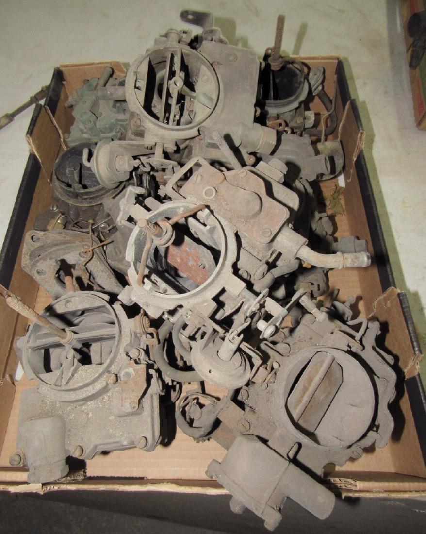 Box of Carburetors