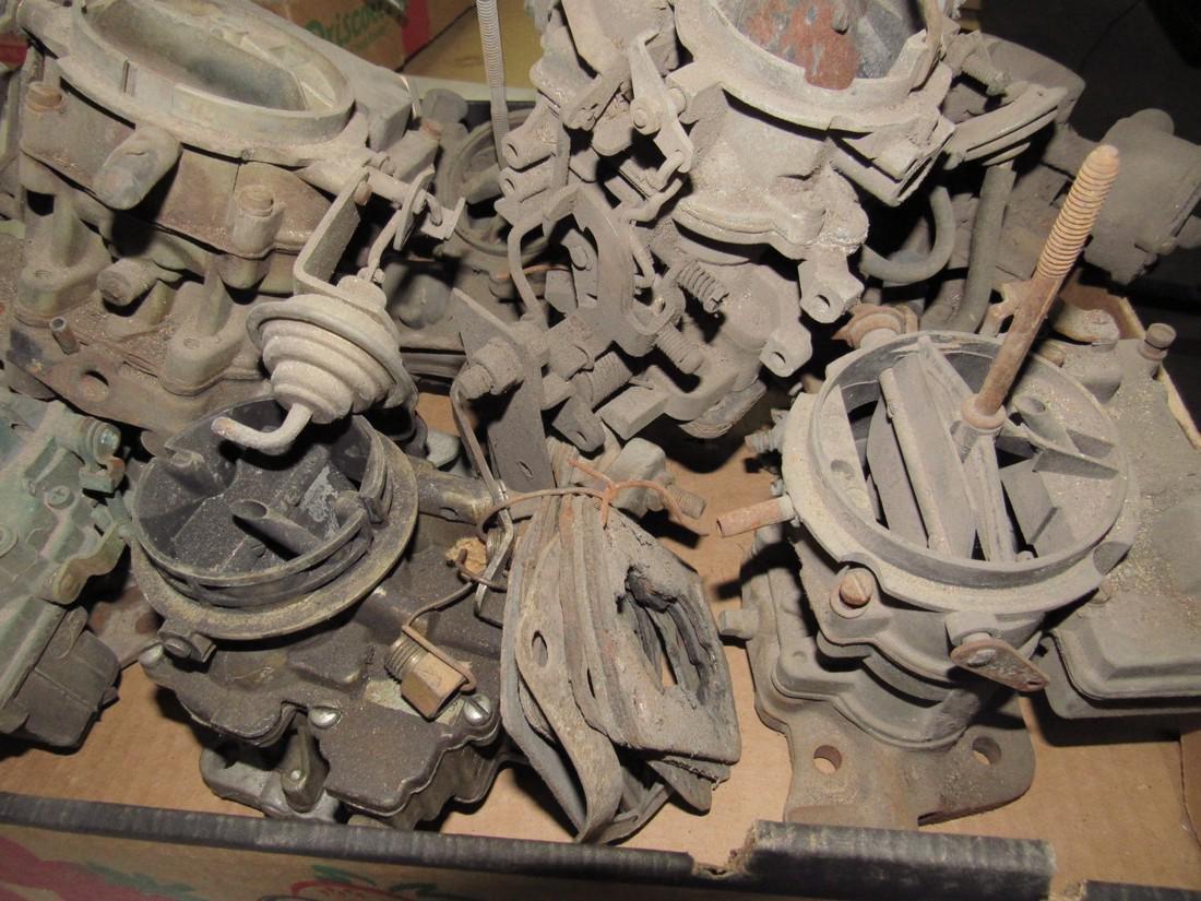 Box of Carburetors - 2