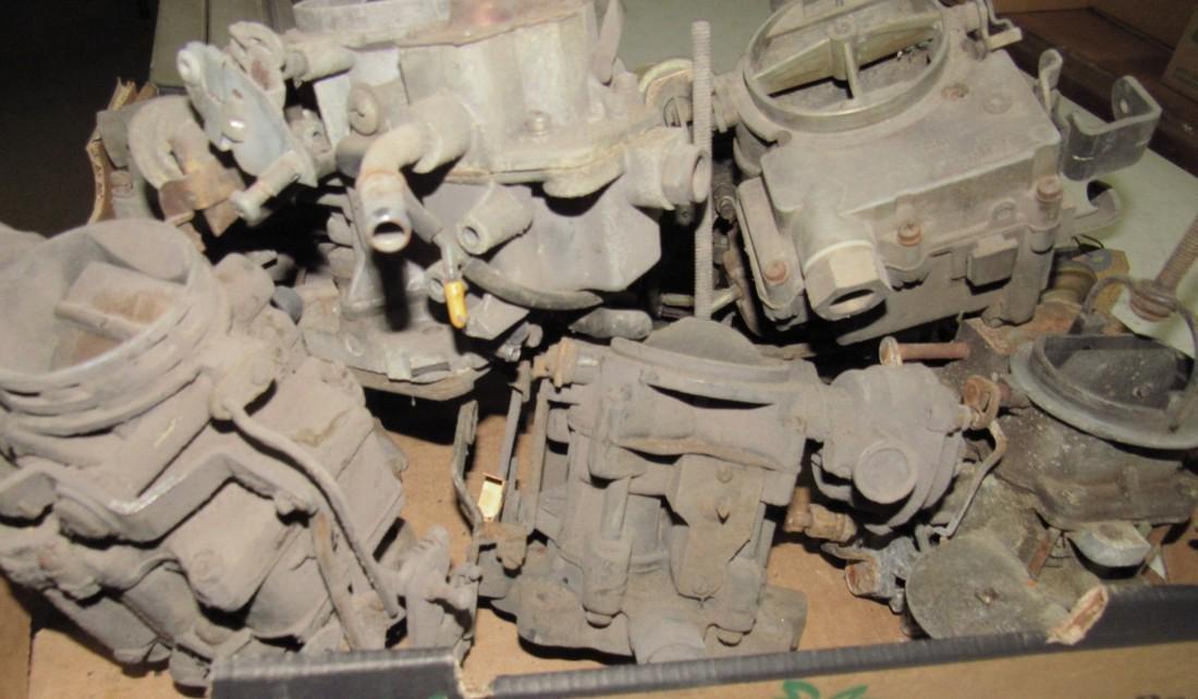 Box of Carburetors - 3