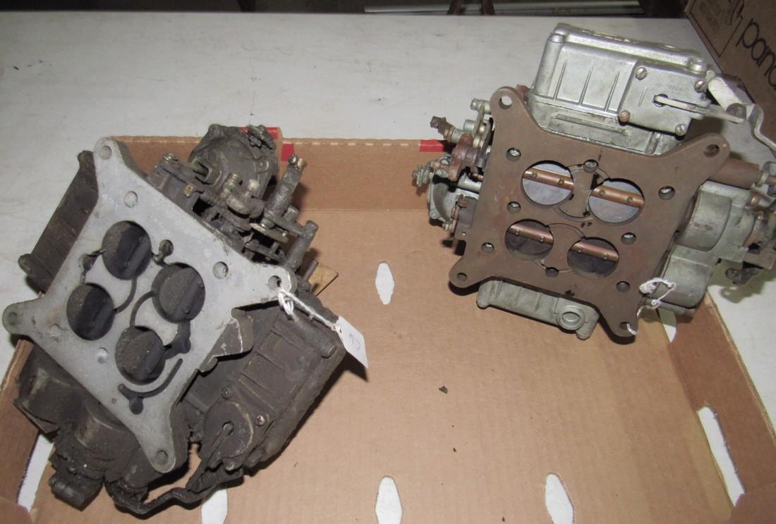 2 Holley 4 Barrel Carburetors - 2