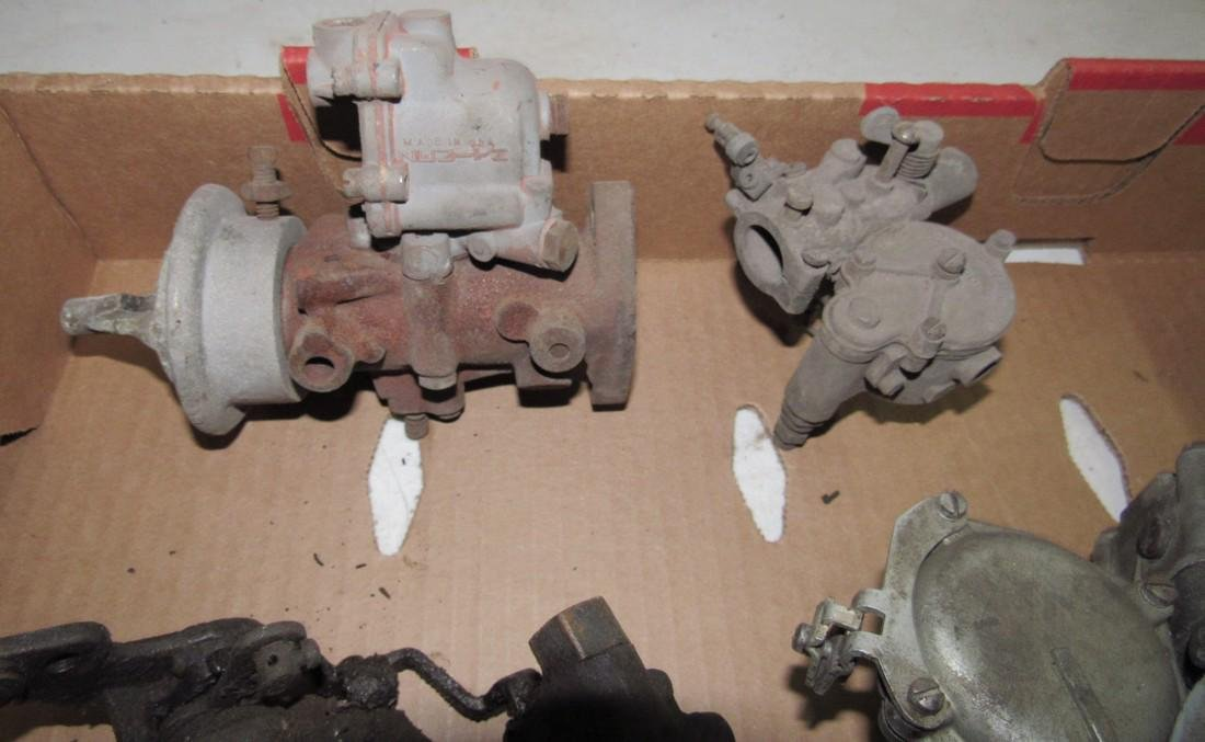 2 Holley 4 Barrel Carburetors - 3