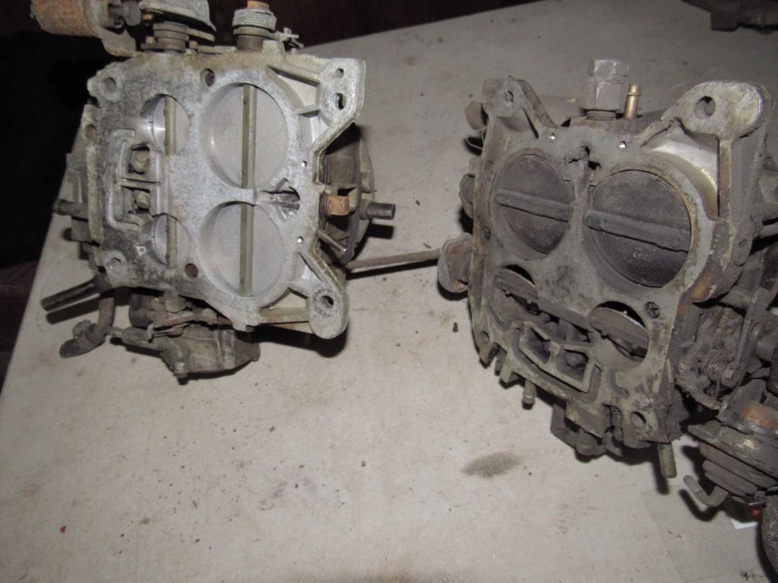 2 4 Barrel Carburetors - 2