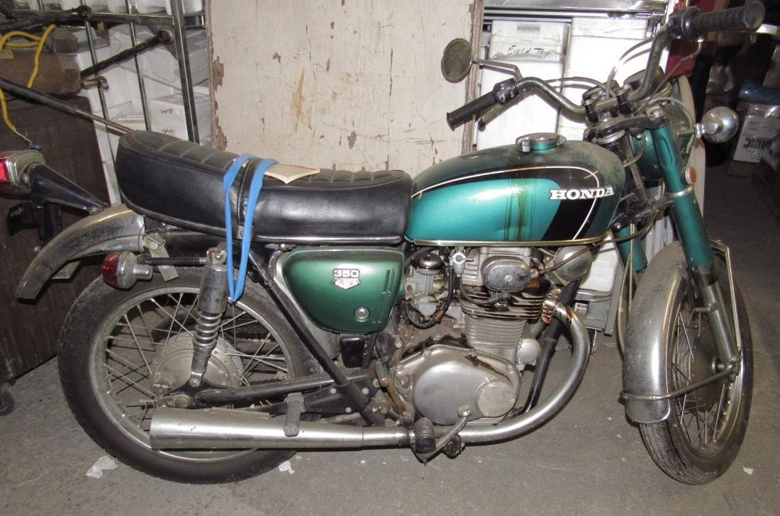 1970 Honda 350 Motorcycle