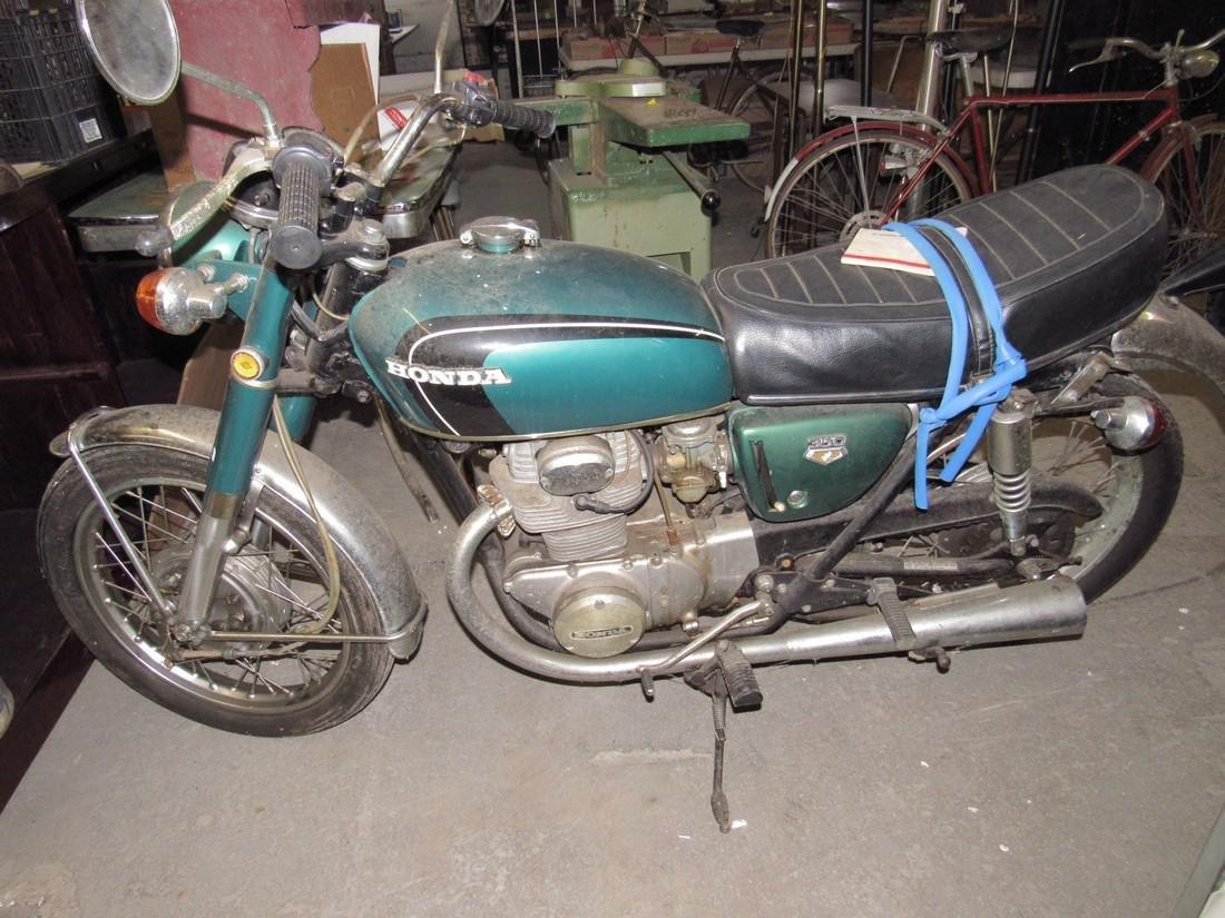 1970 Honda 350 Motorcycle - 7