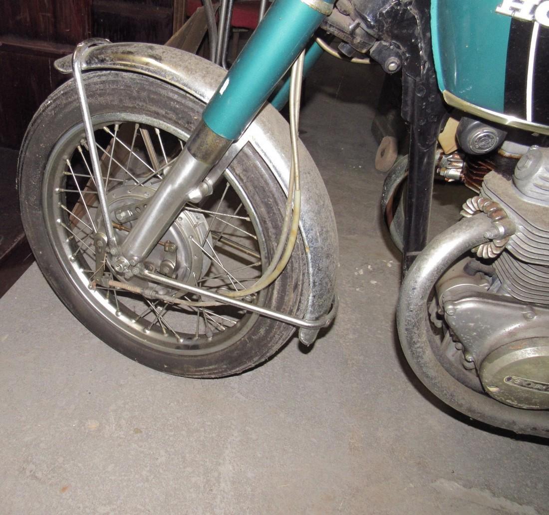 1970 Honda 350 Motorcycle - 8