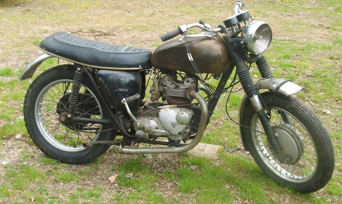 1960's Triumph Motorcycle - 2