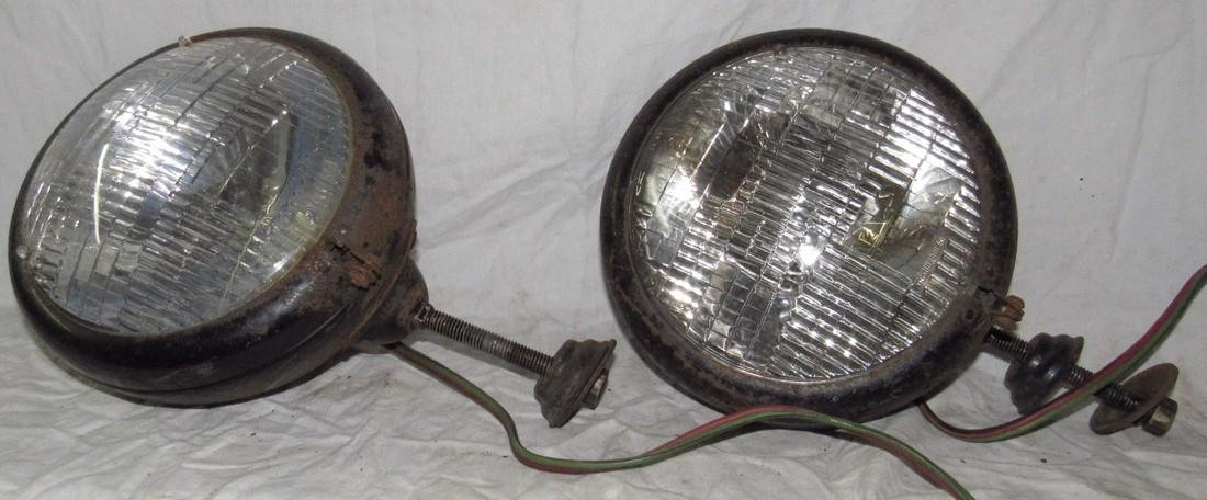 Auto Lamp Model 430 Antique Car Headlights