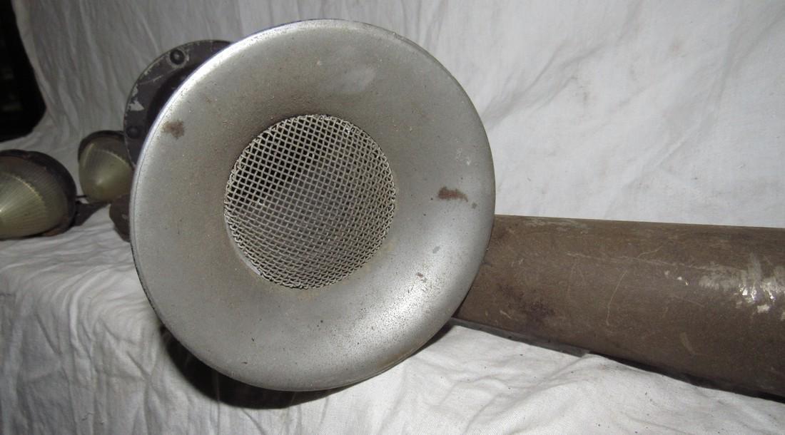 Antique Car Horns & Marker Lights - 2