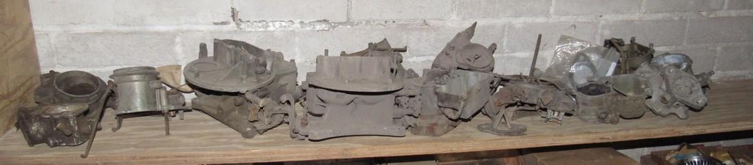 Antique Carburetors for Parts
