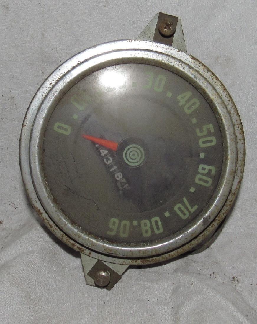 Antique Car Speedometer