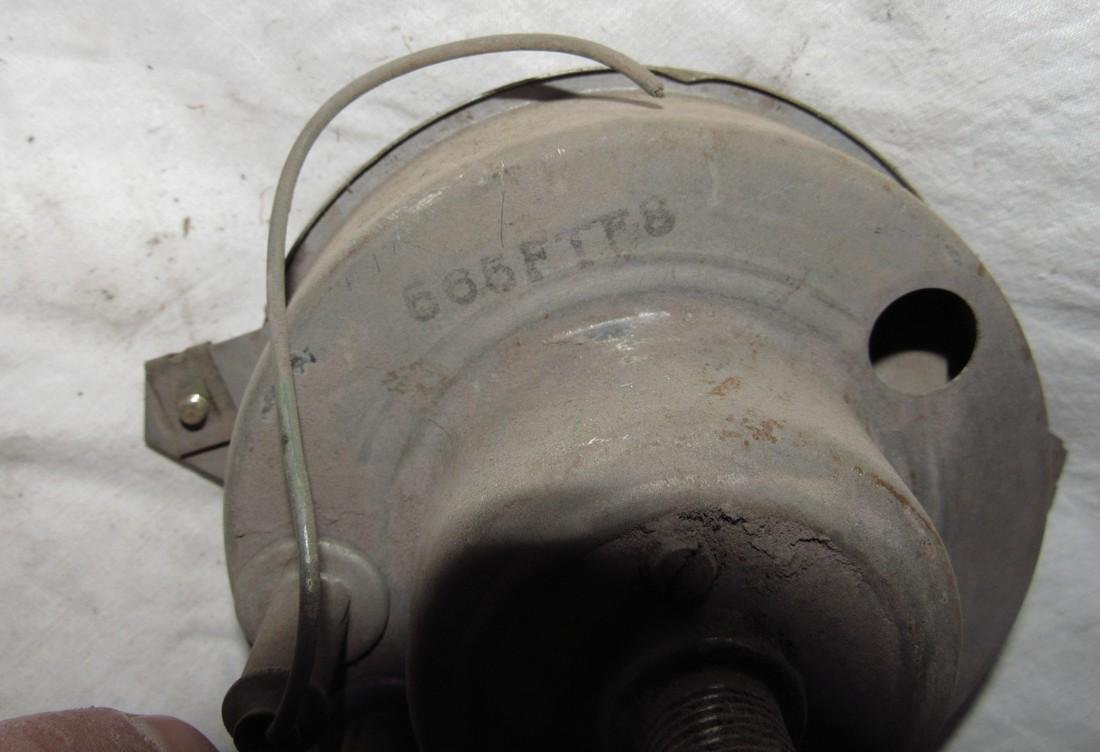 Antique Car Speedometer - 3