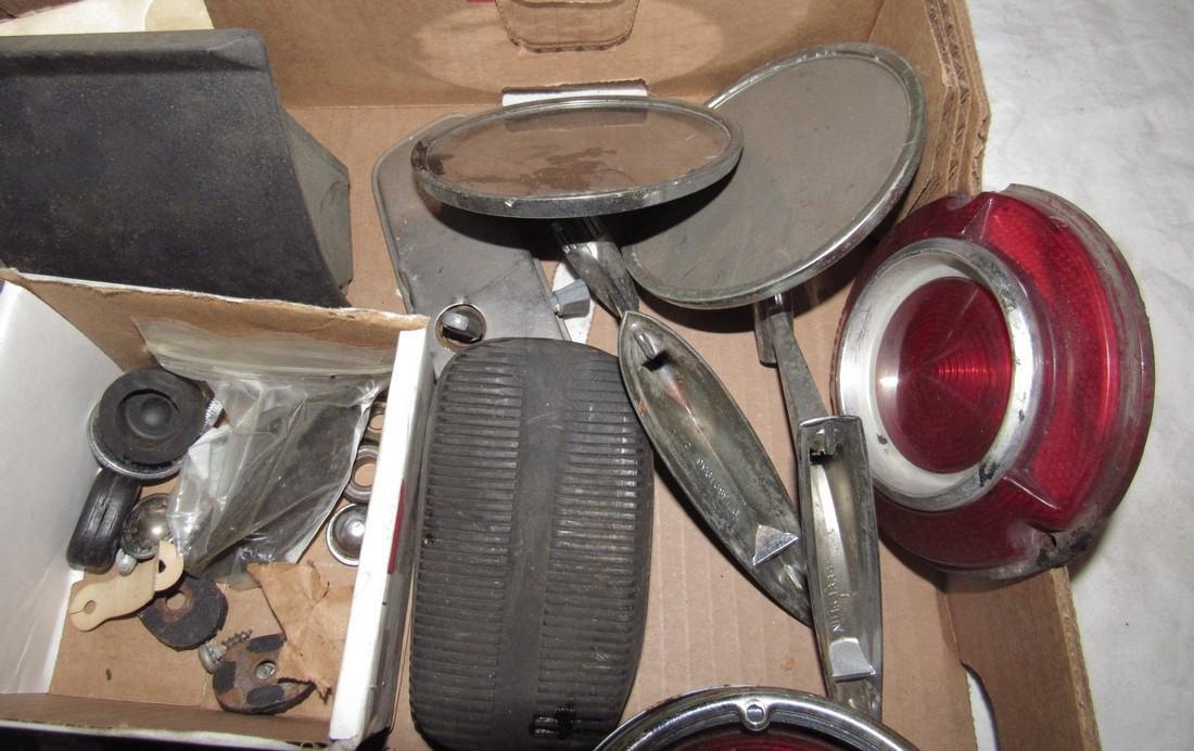 Monza Hubcap Centers Tail Light Lenses Mirrors Box Lot - 3