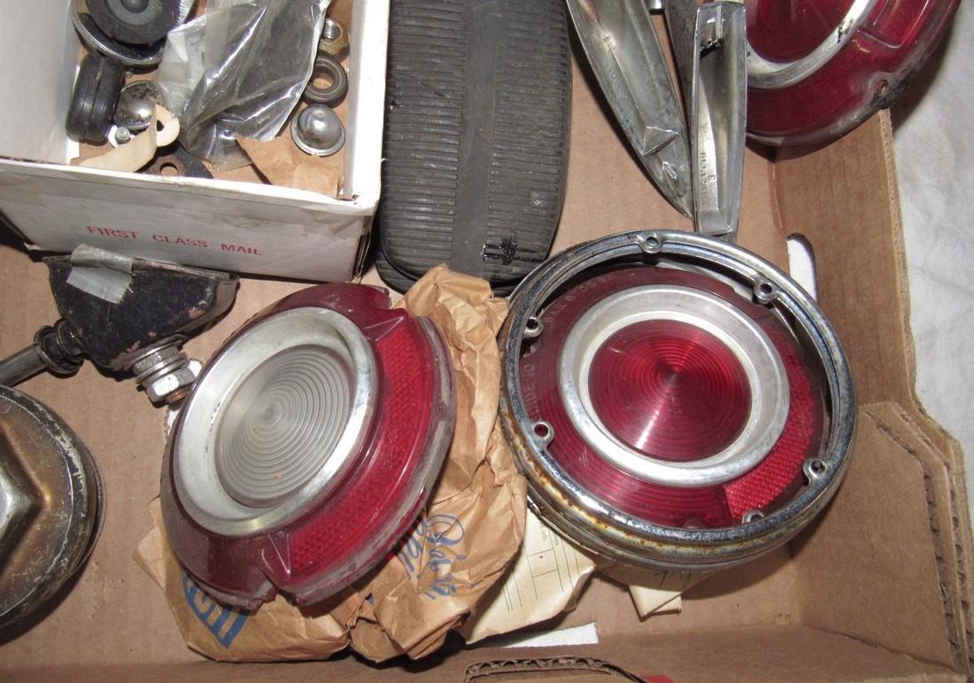 Monza Hubcap Centers Tail Light Lenses Mirrors Box Lot - 4