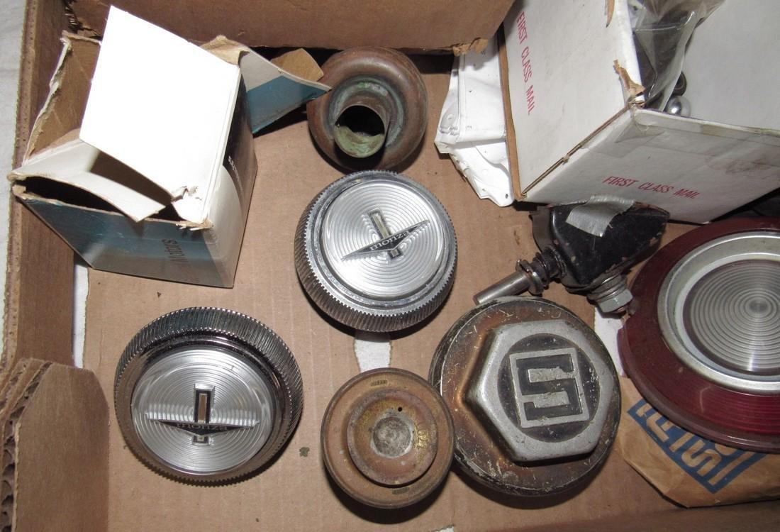 Monza Hubcap Centers Tail Light Lenses Mirrors Box Lot - 5