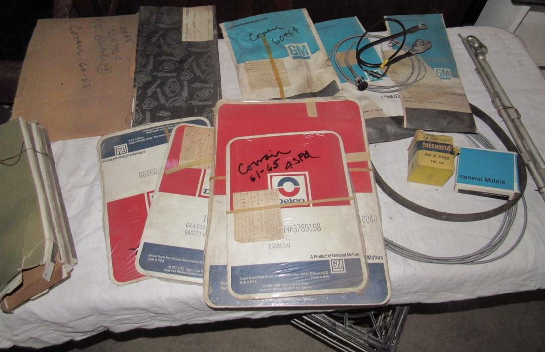 Corvair Gaskets Battery Cables & Misc