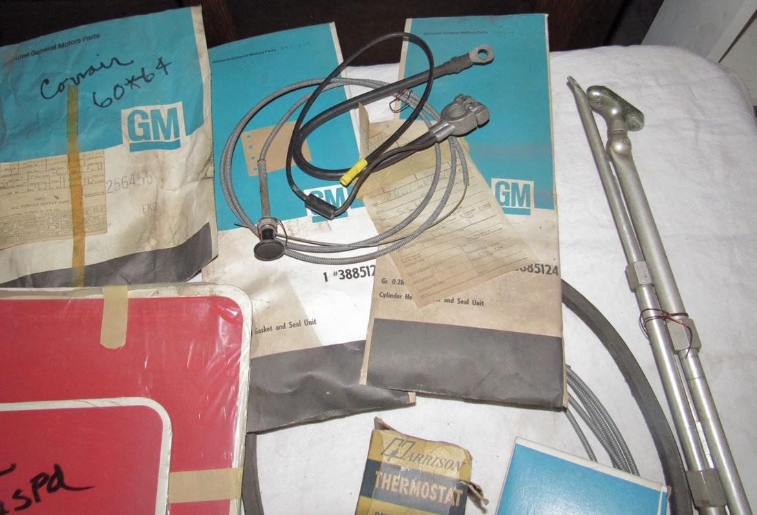 Corvair Gaskets Battery Cables & Misc - 3