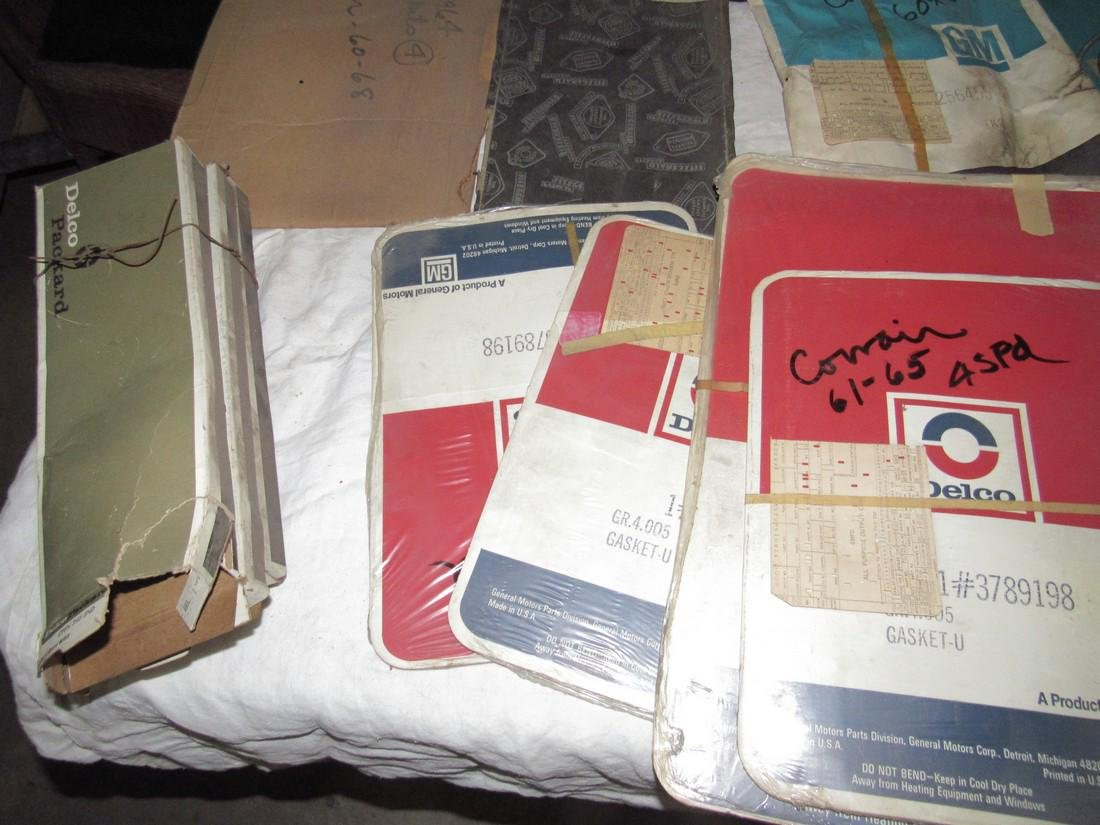 Corvair Gaskets Battery Cables & Misc - 5