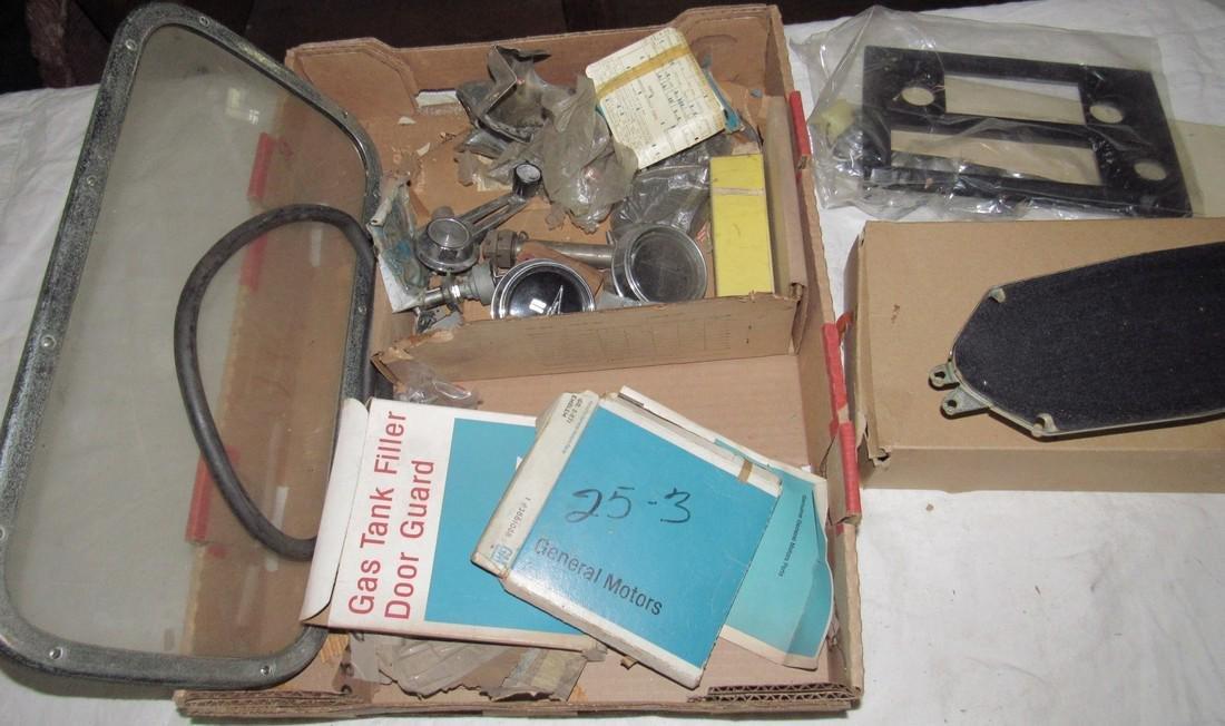 Misc Car Parts Box Lot