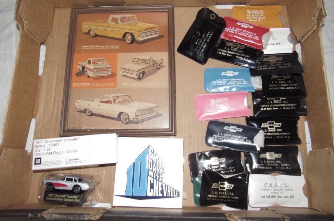 Roof Chevrolet Advertising Framed Chevy Advertising