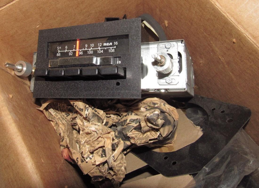 RCA Car Radio Speakers & Dash Panel