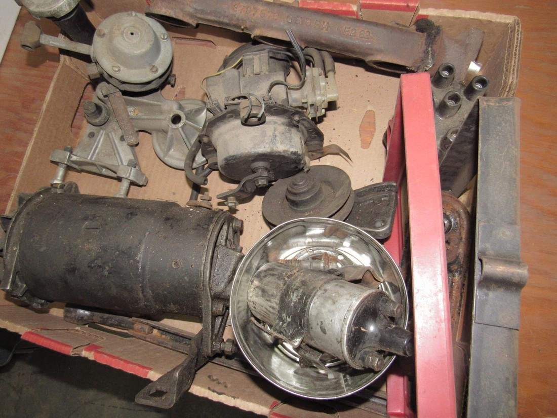 Alternator & Misc Car Parts - 2