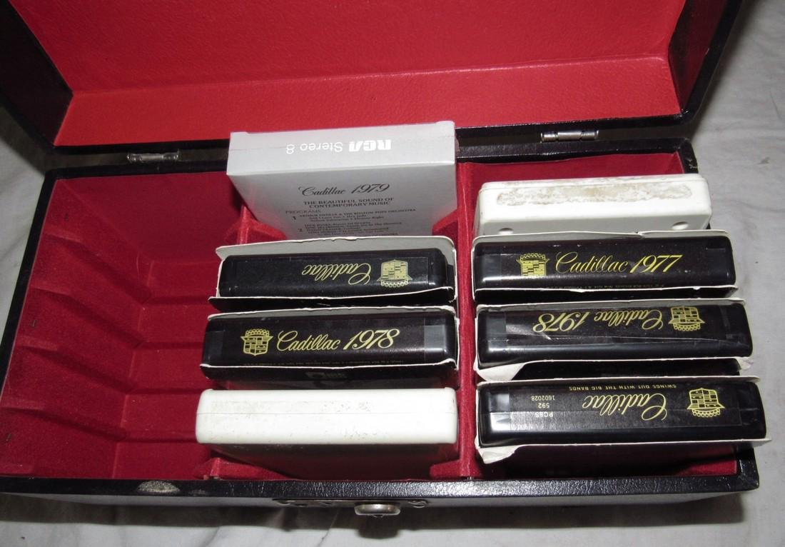 Cadilla 8 Track Tapes & Case