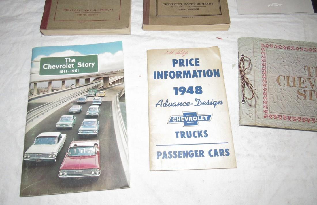 1931 & 1932 Chevrolet Repair Manuals & Misc Brochures - 3