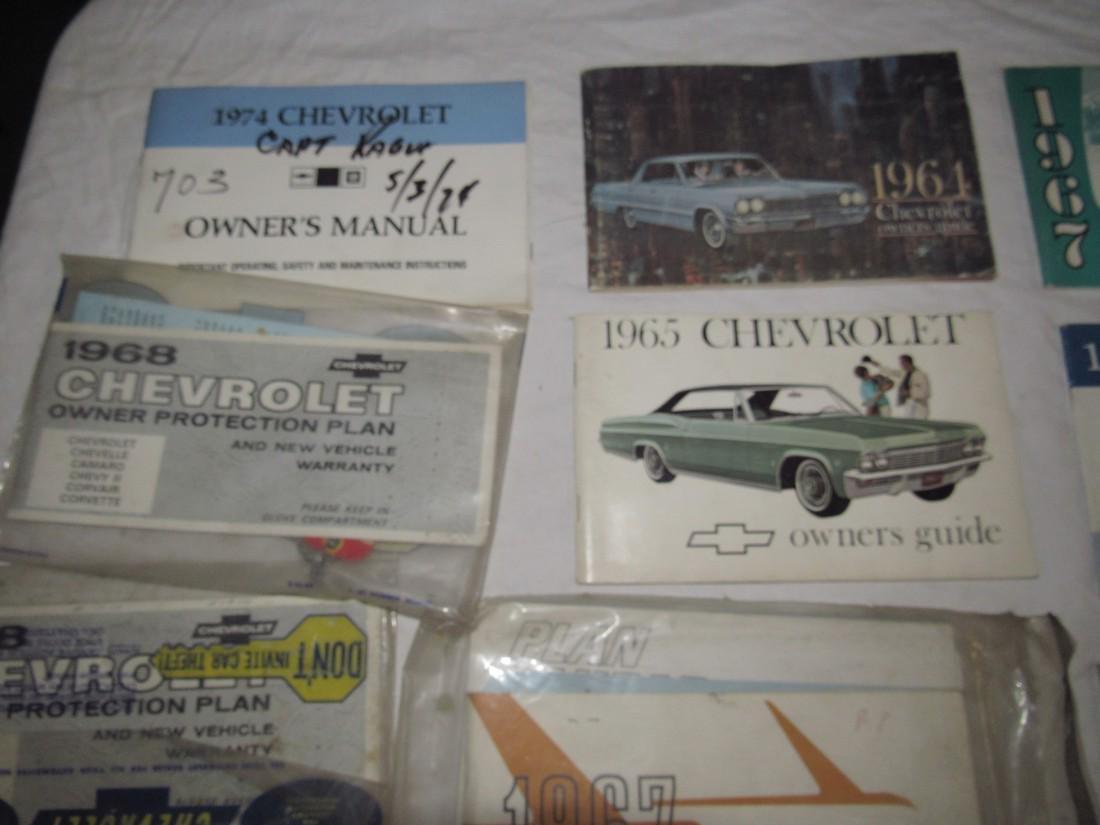 1960's Chevrolet Car Trucks Owners Manuals - 2