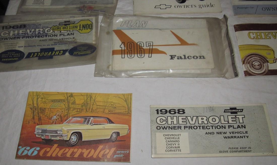 1960's Chevrolet Car Trucks Owners Manuals - 3