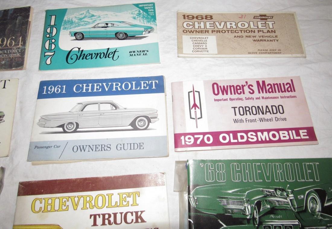 1960's Chevrolet Car Trucks Owners Manuals - 5