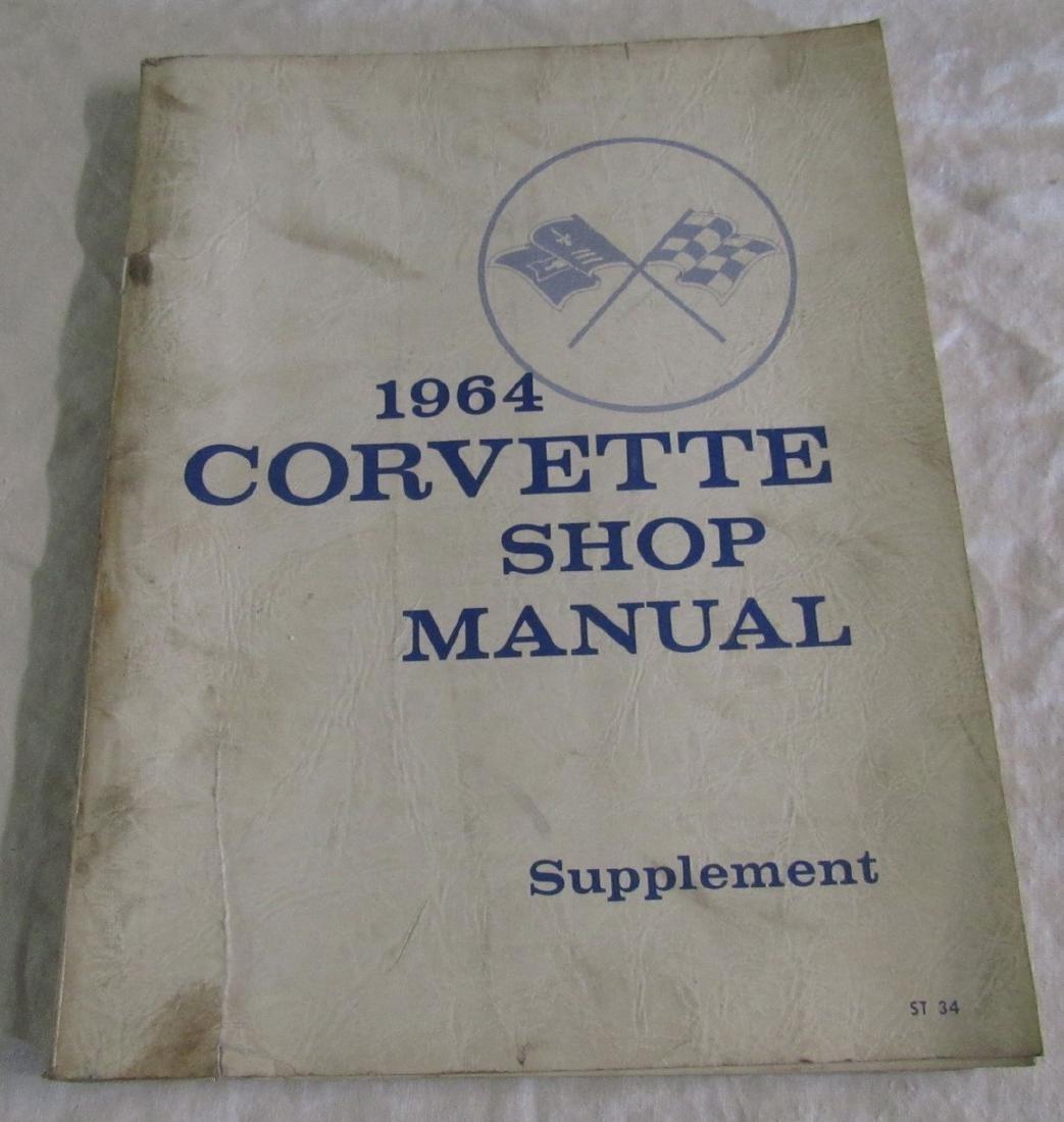 1964 Chevrolet Corvette Shop Manual